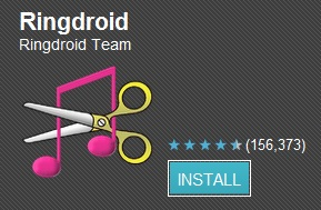 RingDroid Android Application.