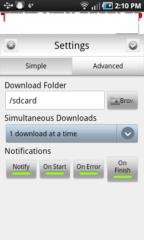 AndroGET_simple_settings
